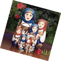 "Bits and Pieces - ""Dog Ladies"" - Set of 10 Matryoshka Dolls"
