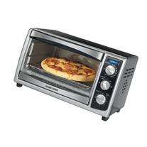 BLACK+DECKER TO1675B 6-Slice Convection Countertop Toaster Oven, Includes Bake Pan, Broil Rack & Toasting Rack, Stainless Steel/Black Convection