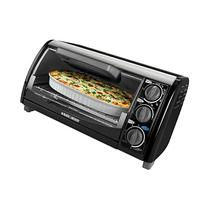 Black & Decker TRO490B 1200-Watt 4-Slice Countertop Oven and