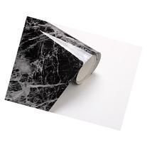 Black Grey Granite Look Marble Effect Contact Paper Film