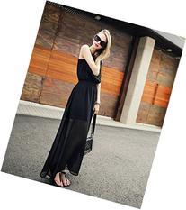 Black Long women's dress OL commuter Fashion Uniform S M L