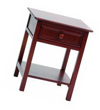 Bolton 8001600 Wakefield 1-Drawer Nightstand, Cherry