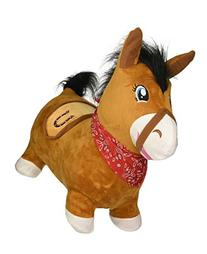 Bouncy Horse & Inflatable Real Feel Hopping Horse. Plush