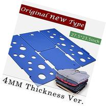 BoxLegend Clothes/T Shirt Folder Blue Plastic 4mm Thickness