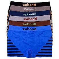 Boy's, Youth Seamless Underwear Seamless Briefs Stripe
