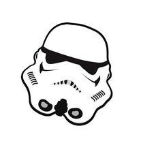 Boys/Kids Star Wars Storm Trooper Bedroom Floor Rug/Mat