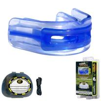 Brain-Pad LoPro Double Laminated Strap//Strapless Combo in one Adult Mouthguard