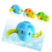 BreaDeep 3pcs Cute Wind up Turtle Toys Baby Boys Girls