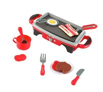 Breakfast Griddle Electric Stove Play Food Kitchen Grill Set