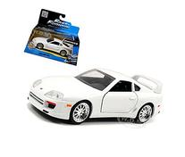 """Brian's Toyota Supra White """"Fast & Furious 7"""" Movie 1/32 by"""