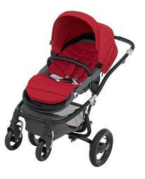 Britax Affinity Complete Stroller - Red Pepper - Black