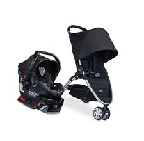 Britax B-Agile 35 Travel System, Black