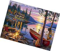 Buffalo Games Darrell Bush: Canoe Lake Jigsaw Bigjigs Puzzle