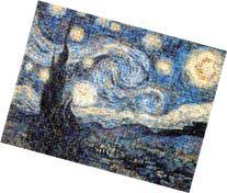Buffalo Games Photomosaic The Starry Night - 1000pc Jigsaw