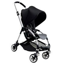 Bugaboo Bee3 Stroller - Black - Grey Melange - Aluminum