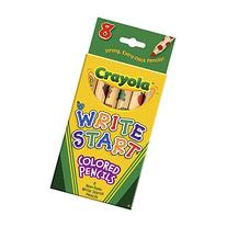Bulk Buy: Crayola Write Start Colored Pencils 8/Pkg 68-4108