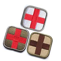 Bundle 3 Pieces - Medic Cross Tactical Patch With Backing