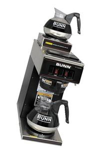 Bunn-O-Matic VP172BLK 12-Cup Two-Station Commercial Pour-O-