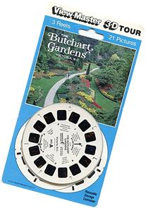 Butchart Gardens Victoria, B.C. - ViewMaster 3 Reel Set