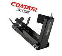 CONDOR #SC1500 - Motorcycle Wheel Chocks Permanent Chock