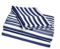 Cabana Stripe Kids Wrinkle Resistant Cotton Blend 600 Thread