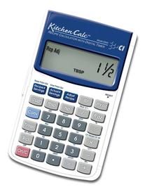 Calculated Industries KitchenCalc 8300 Recipe Calculator with Digital Timer