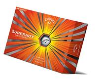 Callaway SuperHot Golf Balls - Box of 24, White