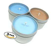Candlecopia Manly Man 3-Pack Scented Soy Candles - Includes