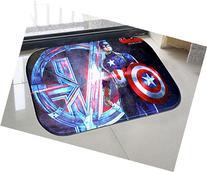 Captain America Door Mat Kitchen Bathroom Mat Carpet Bath