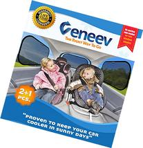 Car Sun Shade for Side and Rear Window  - Car Sunshade