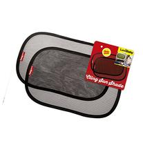 Car Sun Shades - 2 Pack - Premium Quality Cling Window