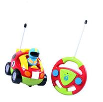 Cartoon R/C Race Car Radio Control Toy for Toddlers by
