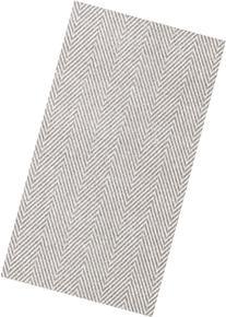 Caspari 9761GG Jute Paper Linen Guest Towels, Flax, 12-Pack