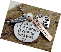 Cat Dog Pet Loss Remembrance - A Piece of My Heart Lives In