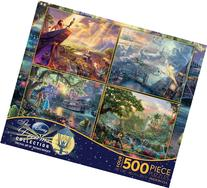 Ceaco 4-in-1 Multi-Pack Thomas Kinkade Disney Dreams