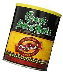 Chock Full O Nuts Ground Coffee, Original Blend, 48 Ounce