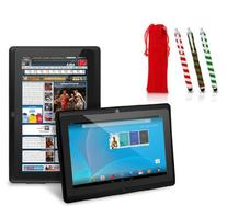 "Chromo Inc. 7"" - Tablet PC and Candy Cane Stylus Gift Set"
