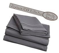 Clara Clark Superior Bed Sheet Set - Double Brushed