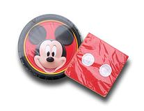 Classic Mickey Mouse Birthday Party Supply Kit - Plates and