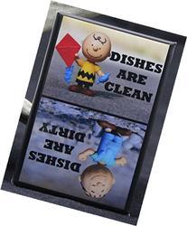 Clean / Dirty Pigpen & Charlie Brown - Dishwasher Magnet.