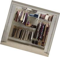 ClosetMaid 22875 ShelfTrack 5ft. to 8ft. Adjustable Closet