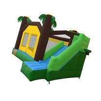 Cloud 9 Jungle Bounce House with Climbing Wall and Slide