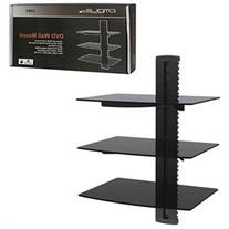 Cmple - Wall Mounted AV Component Shelving System with 3