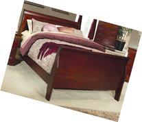 Coaster Fine Furniture 200431q Louis Philippe Style Sleigh