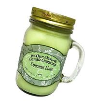 Our Own Candle Company Coconut Lime Scented 13 Ounce Mason