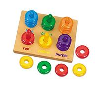 Color Rings Sorting Board