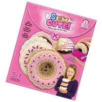 Colorbok 68357 Sew Cute Felt Bakery Kit, Donuts
