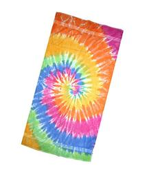 "Colortone 30"" X 60"" Tie Dye Beach Towel Eternity"
