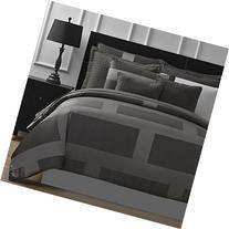 Comfy Bedding Frame Jacquard Microfiber King 5-piece