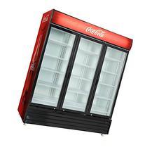Commercial 3 Glass Door Merchandiser Upright Refrigerator